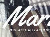 actualizaciones literarias (Marzo, 2017)