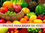 mejores Frutas para bajar peso