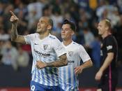 Málaga revienta Liga