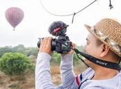fotografía viajes cámara profesional Sony Alpha