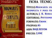 Reseña: Hogwarts: guía incompleta poco fiable, Rowling