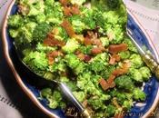 Ensalada brócoli frutos secos vinagreta mostaza miel