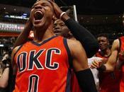 Russell Westbrook,se consagró como Dios baloncesto.
