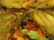 Tortilla vegana patatas espirulina