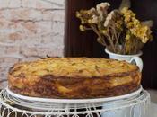 Pastel patata relleno jamón queso