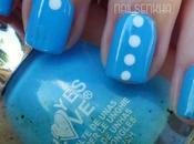 Nail Azul Punto