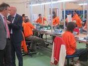 presidente Diputación León reitera compromiso integración social laboral discapacitados durante visita Soltra
