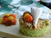 Timbal Quinoa Guacamole Filetes Dorada