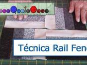 Como hacer rail fence. Videotutorial