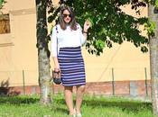 Outfit: Look Premamá Falda Tubo