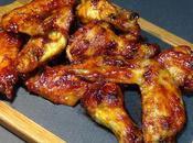 Alitas pollo horno salsa barbacoa casera