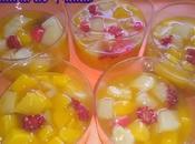 Como hacer gelatinas frutas: Postre fácil.