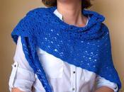Chal azulón crochet