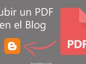 Blogger: Como Colocar Archivos Entradas