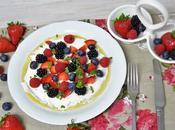 Crepes lactosa queso frutos rojos