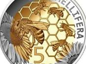 Moneda luxemburgo abeja luxembourg coin with bee.