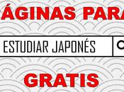Páginas para estudiar japonés