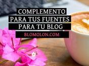 Complemento Para Fuentes Blog