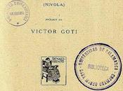 'Niebla', Miguel Unamuno (1914)