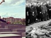 artista transforma selfies memorial Holocausto algo trágico