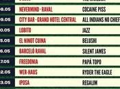 Primavera Bars. Previa conciertos gratuitos bares Barcelona