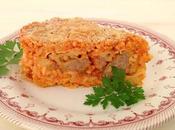 Sartú riso pastel arroz