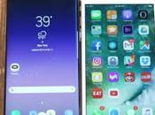 Comparativa Samsung Galaxy Plus iPhone