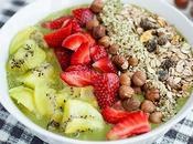 Smoothie bowl espinacas