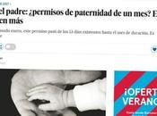 prensa: permiso paternidad