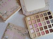 """faced """"natural love eyeshadow palette"""" review swatches"""