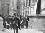 Inauguración lápidas mayo. Madrid, 1908