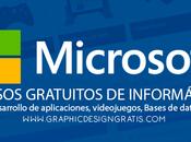 cursos informática gratuitos impartidos Microsoft 2017