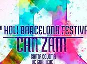 Holi Barcelona 2017. Festival colores Zam, Santa Coloma Gramenet!