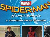 calendario 'Spider-Man: Homecoming'
