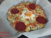 Pizza calabacín