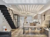 Loft Moderno Industrial Londres
