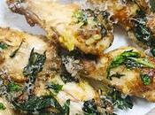 Alitas pollo parmesana