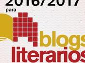 Premios 2016 2017 Blogs literarios