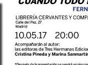 """Presentación """"Cuando todo fácil"""" Fernando López"""