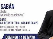 especialista internacional Cábala Mario Sabán Being One, mayo, Madrid.