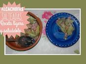 Receta ligera saludable: Alcachofas salteadas pavo