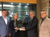 Continental Tire Andina recibió visita Marianne Vente, embajadora Unión Europea