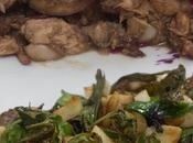 Filete ensalada alubias