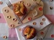 Muffins leche condensada chocolate blanco moras