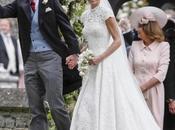 Pippa Middleton novia clásica vestido encaje Giles Deacon