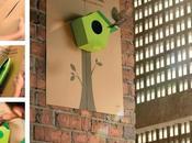 Estos pósters convierten casas para pájaros movimientos