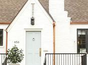Pequeña casa estilo rústico moderno