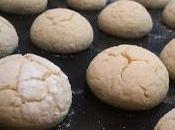 Galletas crinkles blancas