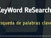 KeyWord Research búsqueda palabras clave