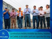 Obras complementarias luego reapertura puente clarita-anuncia nelson chui…